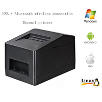 HPRT Thermal Printer 58MM USB Bluetooth Wireless Connection Printer Receipt Label LOGO Printer Mini Thermal Printer