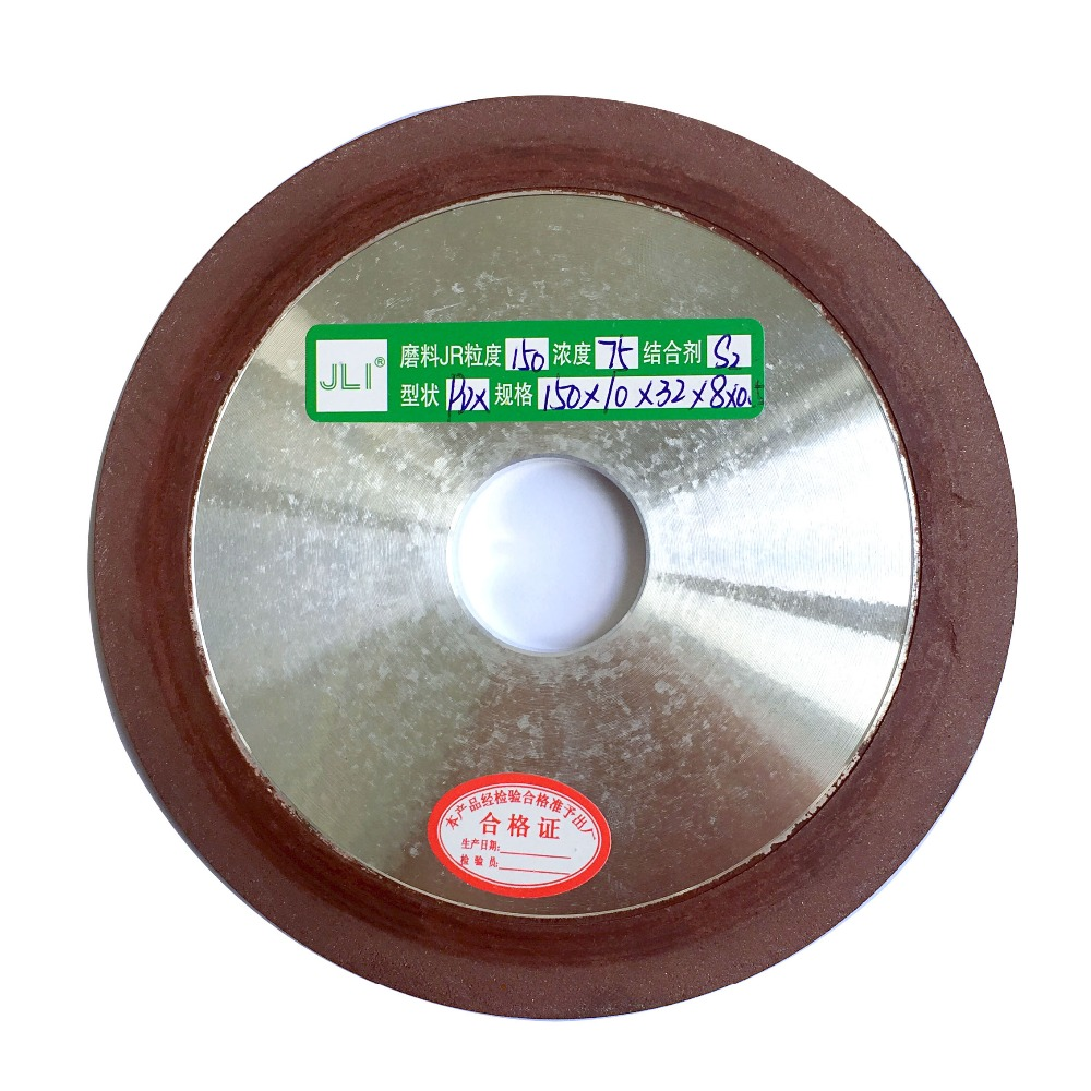 JLI 1Pc 150mm 120/150/180/240/320 Degree Diamond Wheel Cutting Electroplated Saw Blade Grinding Disc Grain Fineness Rotary Tool jli 125mm 120 150 180 240 320 diamond grinding wheel cup grinding grain cutting saw blade disc bowl rotary abrasive tools