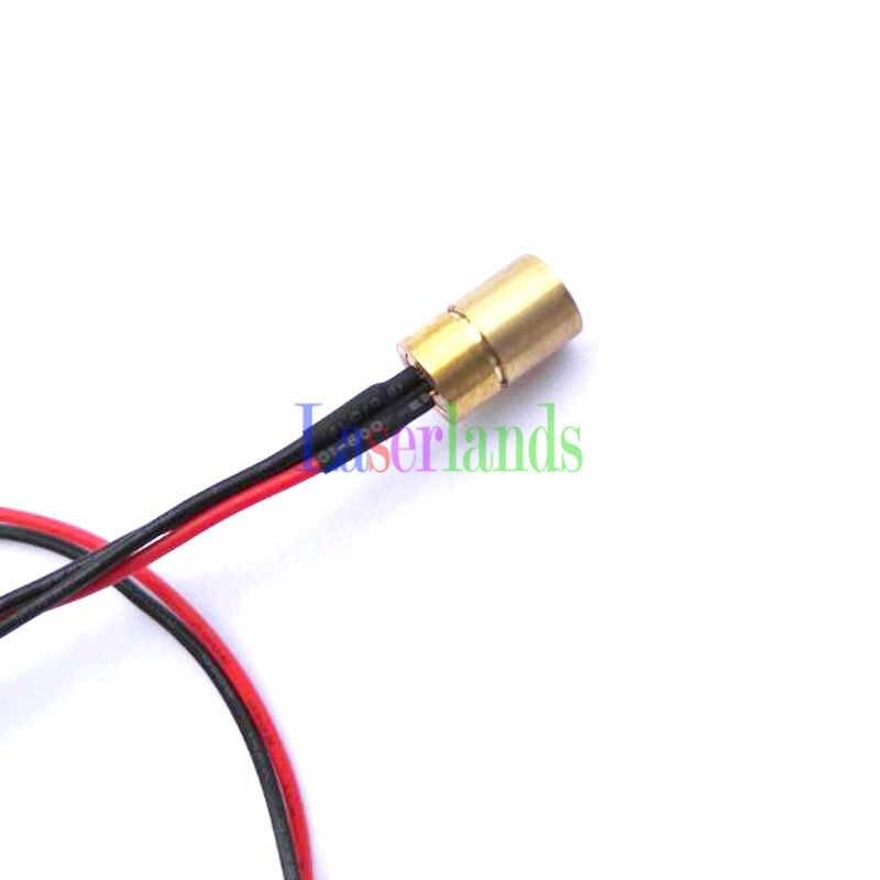 8*13mm enfocable 405nm 5 mw-10 mW violeta/azul diodo láser Dot módulo con controlador