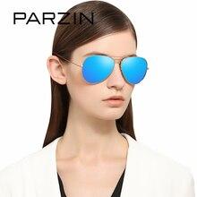 PARZIN Brand Metal Aviator Sunglasses Top Quality Pilot Glasses For Men and Women Coating Mirror Lens Eyewear Anti-UV400 3026