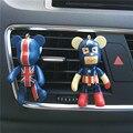 Adorável violência urso Dos Desenhos Animados do carro perfume assento tomada perfume clipe ambientador carro styling Superman e o morcego 100 Origina