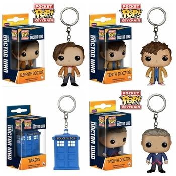 Doctor 101112 Regalo Acción Llavero Niños Pop Who Figura De Juguetes Caja Colección Con Para Anime Adipose CeQErWdoxB