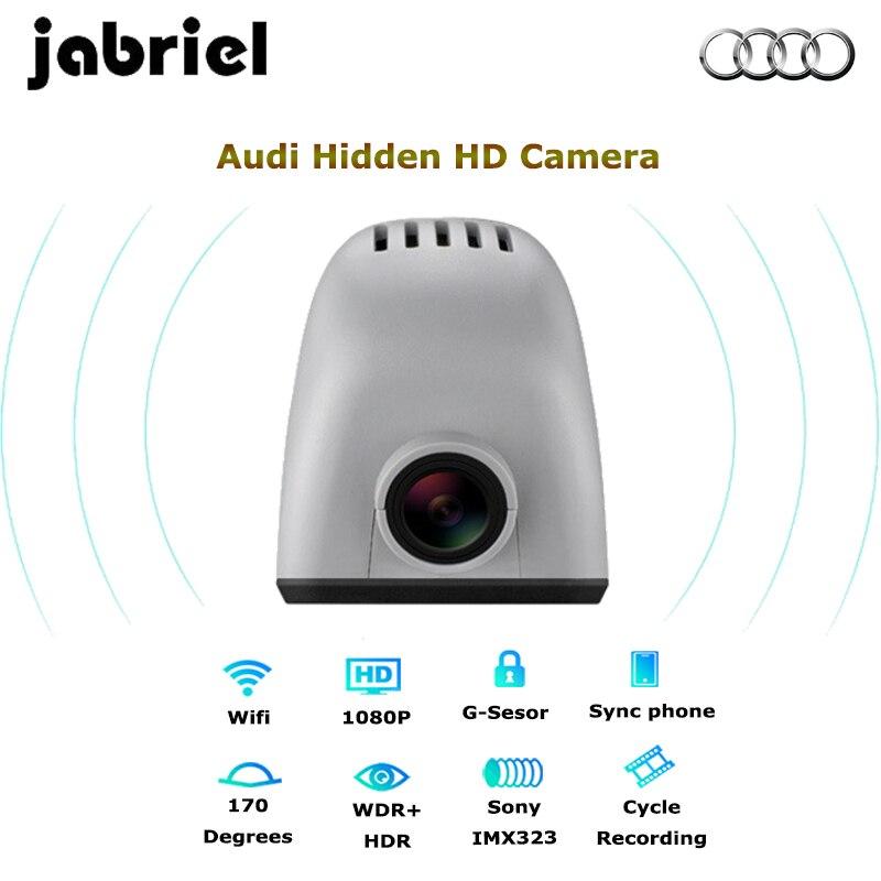 Wi Fi Скрытая автомобильный dvr регистраторы камера цифрового видео регистраторы Audi 2015 A6, Q5, A7, A8/Хэтчбек A3 (15,16, 17)/A4 (13,14, 15)/Q3 (14)/R8