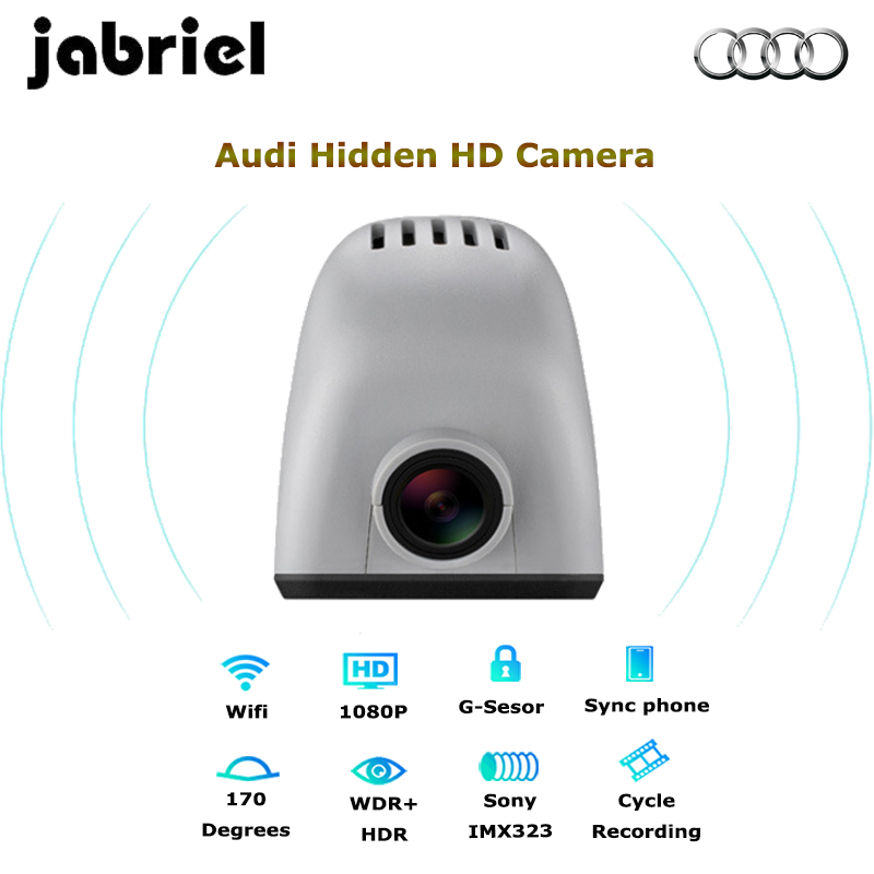 Wifi Hidden Car DVR Dash cam Camera Digital Video Recorder Audi 2015 A6,Q5,A7,A8/hatchback A3(15,16,17)/A4(13,14,15)/Q3(14)/R8 bigbigroad for audi a1 a3 a4l a5 a6l a7 a8 q3 q5 r8 2013 2014 2015 2016 car wifi dvr video recorder dual camera dash cam