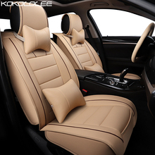 KOKOLOLEE Seat Covers Cars Styling Leatherette For Mini Coupe Car Cover Protector Interior Accessories Black Seats