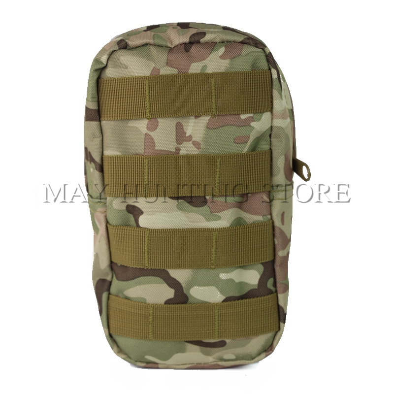 Multicam Compact Tactical MOLLE Pouch Medical First Aid Utility Pouch Camouflage Bag CP color