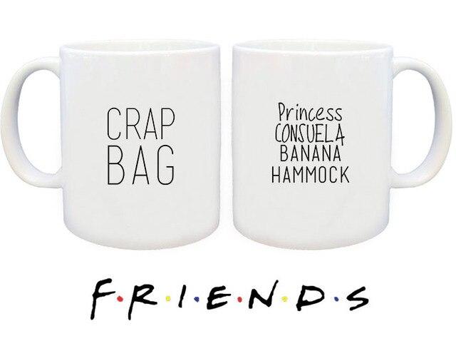 new friends tv show series white ceramic coffee tea cup mug princess consuela banana hammock crap new friends tv show series white ceramic coffee tea cup mug      rh   aliexpress