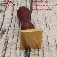 Custom Your Logo Picture Made Square Sealing Wax Stamp Classic Custom Made Sealing Wax Stamp For