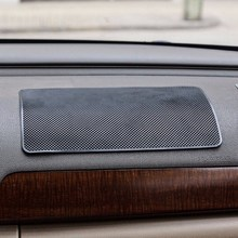 Car Anti-Slip Cell Phone Mat Holder Automobiles Interior Dashboard Sticky Pad For Sunglasses Key Coins Non-slip Mat Accessories malleable non slip sticky cell pad