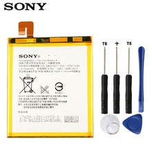 Original SONY Battery For Sony Xperia T2 Ultra XM50t XM50h D5303 D5306 LIS1554ERPC Genuine Replacement Phone Battery 3000mAh lcd display touch screen digitizer assembly for sony xperia t2 ultra dual d5322 d5303 xm50h xm50t xm50u glass lens black white