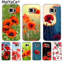 Buy poppy flower quotes and get free shipping on aliexpress maiyaca poppies flower funny cartoon phone case fashion ultra for samsung s9 s9 plus s5 s6 mightylinksfo