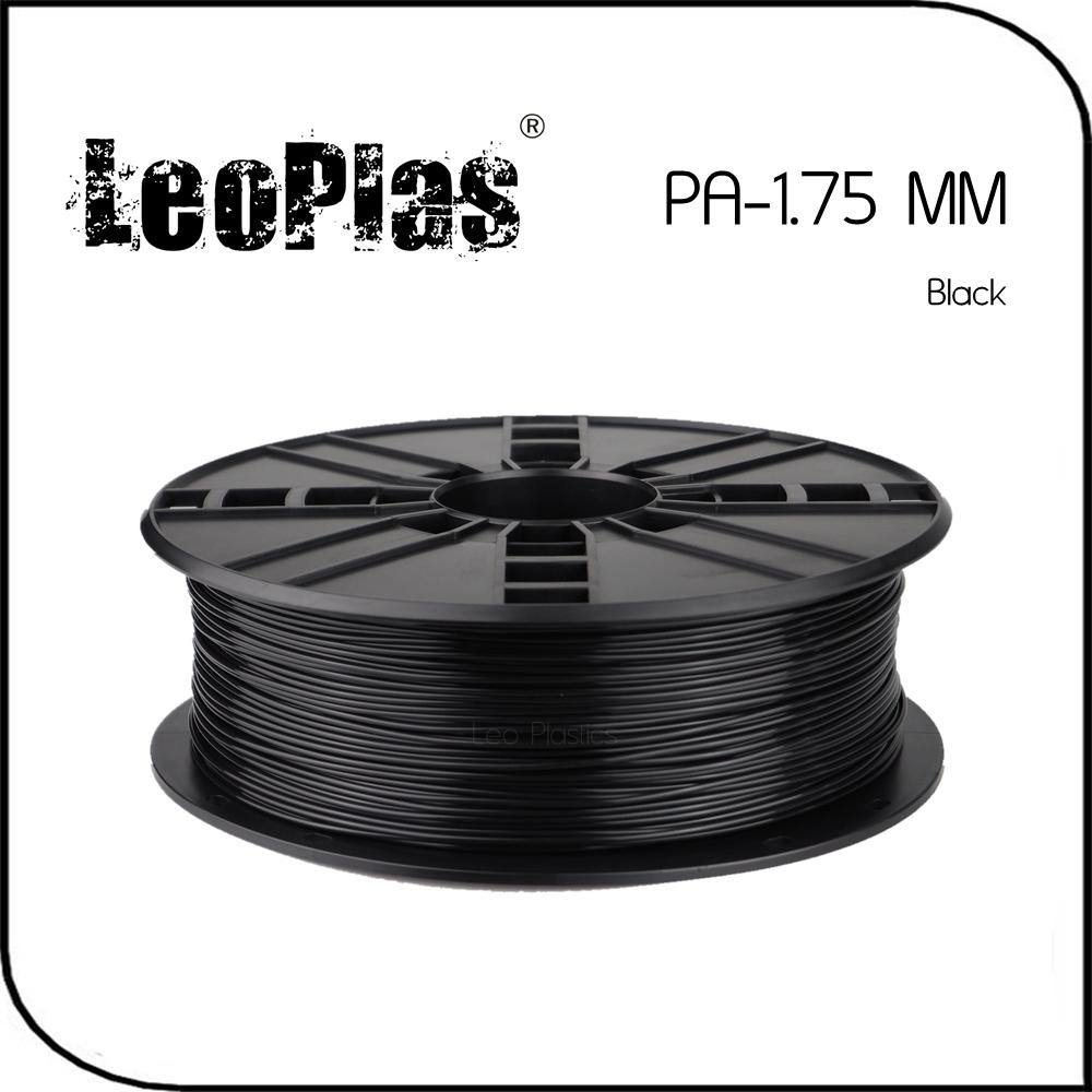 Prix pour Dans le monde entier Rapide Livraison Directe Fabricant 3D Imprimante Matériel 1 kg 2.2lb 1.75mm Noir PA Filament