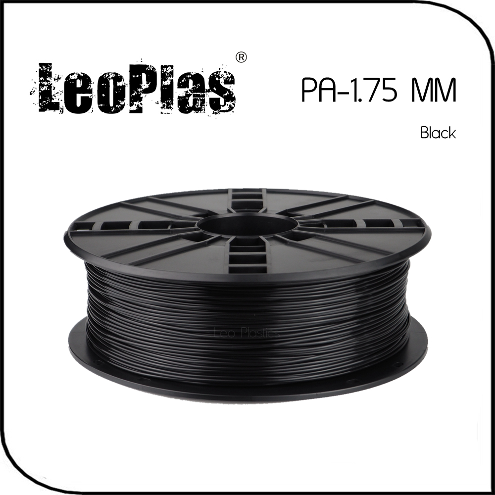 Worldwide Fast Delivery Direct Manufacturer 3D Printer Material 1kg 2 2lb 1 75mm Black PA Filament