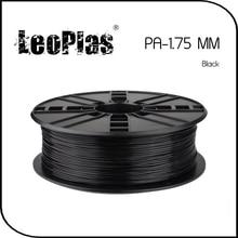 Быстрая доставка по всему миру Прямой Производитель 3d-принтер Материала 1 кг 2.2lb 1.75 мм Черный PA Накаливания