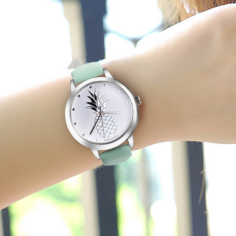 2018 Unisex Fashion Leather Strap Watch Elegant Classic Casual Analog Business Quartz Wristwatch 247 classic leather