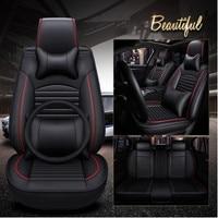 Хорошее качество и бесплатная доставка! Полный комплект автомобильных чехлов для сидений Mitsubishi RVR 2018 2011 удобные прочные чехлы для сидений д