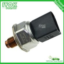 Envío Gratis Riel de Combustible de Alta Presión Sensor Para Mercedes-benz Kia Carnival Sedona Bongo 3 J3 55PP07-02 9307Z512A
