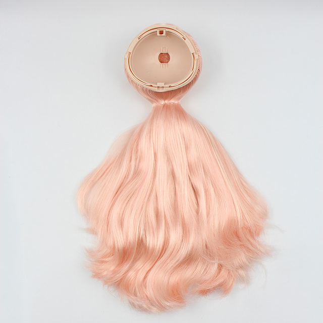 Neo Blythe Doll Scalp Wigs Champagne Hair