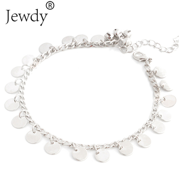 New Bells Round Boho Foot Chain Ankle Summer Bracelet Charm Anklet 4