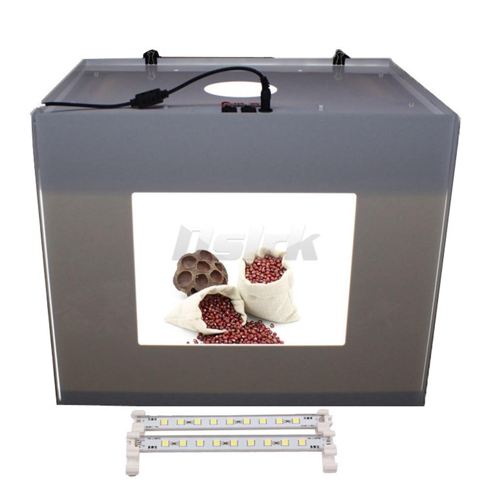 ASHANKS  Softbox LED Light Box  Mini Photo Studio Photography Tent MK30  D30 For Network 110V-240V  Luz Fotografia ashanks small photography studio kit