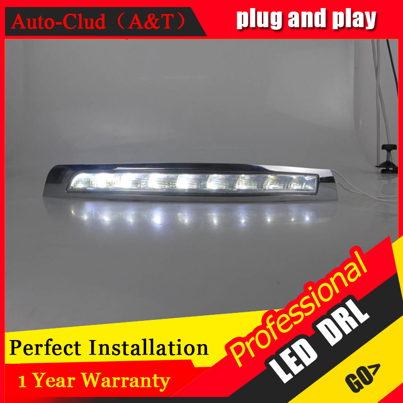Auto Clud car styling For Volvo XC90 LED DRL XC90 High brightness guide LED DRL led fog lamps daytime running light B style auto clud car styling for toyota highlander led drl for highlander high brightness guide led drl led fog lamps daytime running l