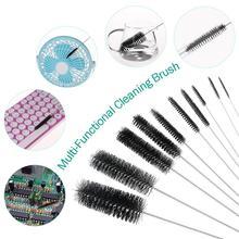 10pcs Nylon Tube Brushes Straw Set for Drinking Straws / Glasses Keyboards Jewelry Cleaning