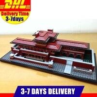 DHL LEPIN 17007 2326Pcs Genuine Architecture Series The Robie House Building Blocks Bricks lepins Toys Model Clone 21010