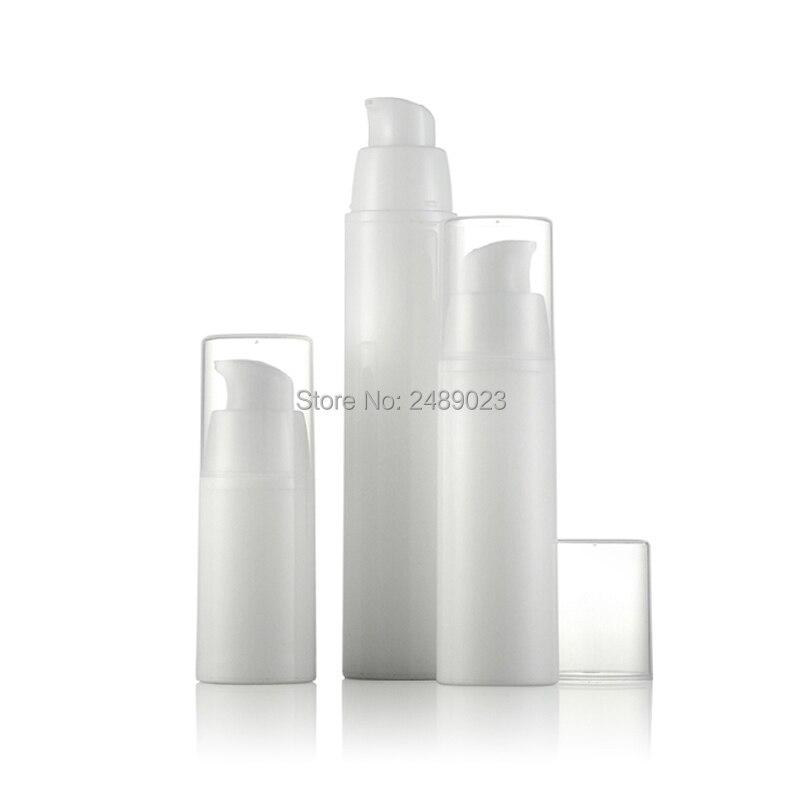 10pcs/Lot 15ml 30ml 50ml Empty Serum Bottles Vacuum Pump Bottles Lotion Sub Bottling With PP Cream Airless Bottle