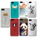 3D Dog Cat Animal For Iphone 7 7 Plus 6 6S 5 5S SE Mobile Phone Housings Silicon TPU Soft Covers For Apple Iphone7 7 Plus 6 6S 5