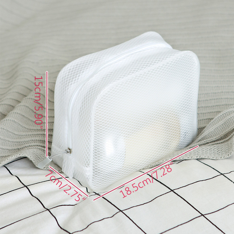 Waterproof Wash Three Dimensional Travel Storage Cosmetic Bag Zipper Appearance EVA Bag Waterproof Makeup Storage Bag in Storage Bags from Home Garden
