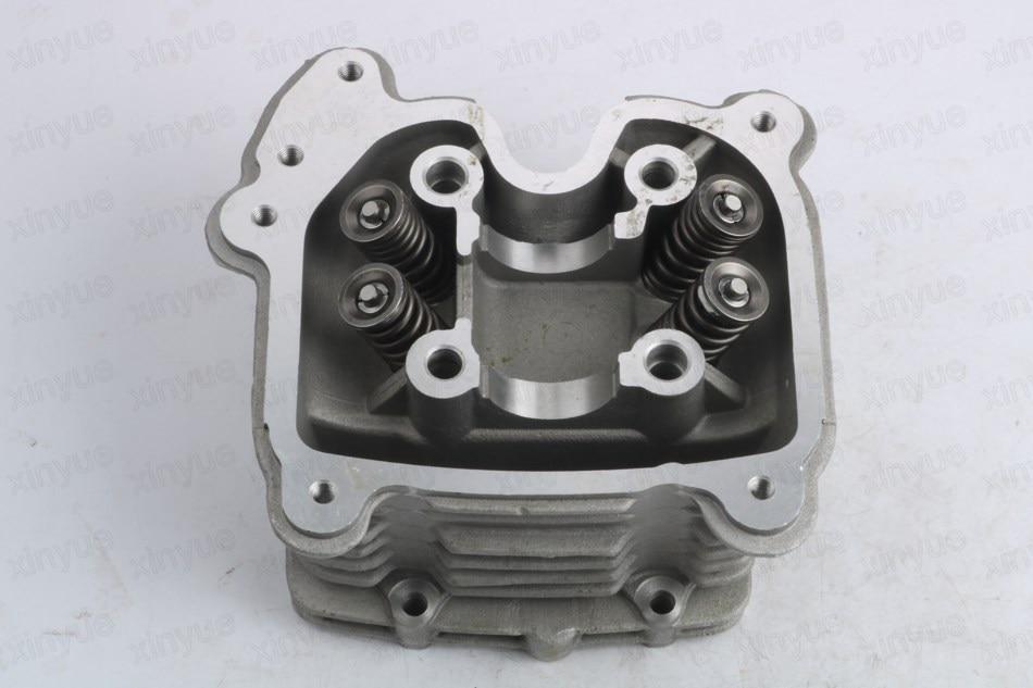 GY6 152QMI 157QMJ 125 150 180cc GP110 4-Valve / 4V cylinder head assembly