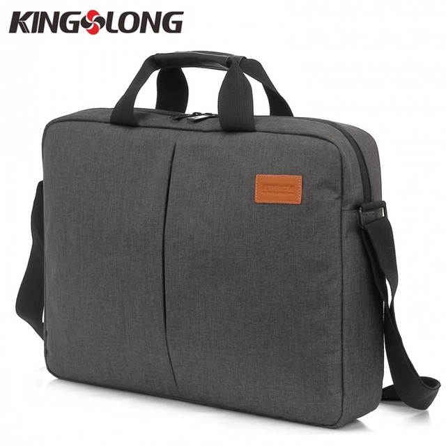 d9422fce3d2e KINGSLONG Nylon Waterproof 14.5 15.6 inch Laptop Computer Notebook Bag for  Men Business Briefcase Messenge Bag KLM1319-4WU
