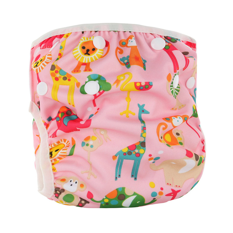 New Waterproof Adjustable Swim Diaper Training Pants 10-40 lbs Swim Diaper Baby Reusable Washable Pool Cover Unisex 15 Color