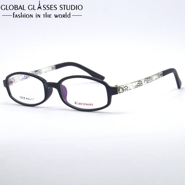 Light Weight High Quality Oval Shape Printing Temple clean lens ...