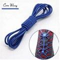 CORA WANG1 par perezoso de Bloqueo sin corbata cordón elástico cordones sneaker laces Cordones elásticos niños seguros ASL666B