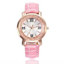 Classic luxury rhinestone watch ladies watch fashion ladies watch casual leather ladies watch clock Relogio Feminino Reloj Mujer luxury watch relogio 2015 reloj m2032