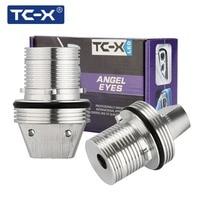 TC-X 2ピース10ワット6000 kエンジェル·アイズledマーカーライトヘイローリング用bmw e39 e53 e65 e66 e60 e61 e63 e64 e87車電球高品質