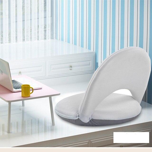 Fashion Home Folding Chair Single Sofa Bed Creative No Legs Furniture Floor Float Window Chairs