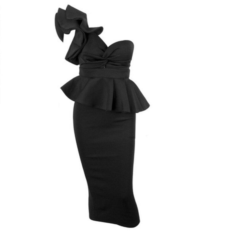 rose Mince De Moulante Été rouge Dos Femmes V Design Avec Sexy Robe Nouveau Asymétrique Élégant blanc En Col Nu Noir 2019 w6I4nxqU7I