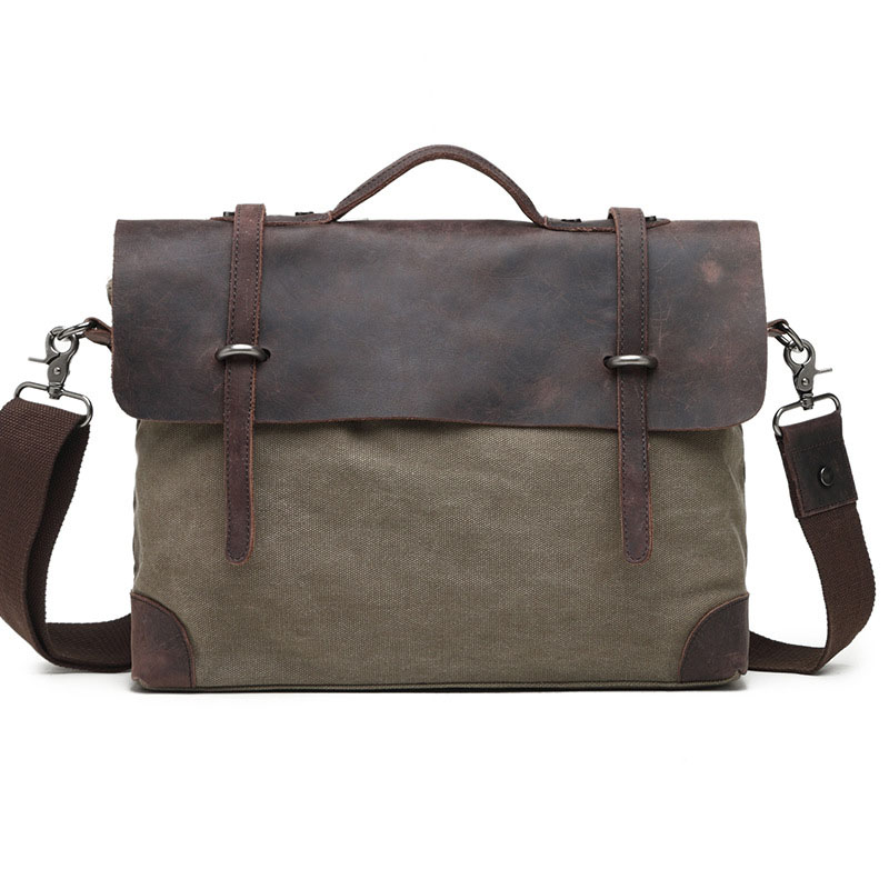 High Quality Multifunction Canvas Bags Men Business Bag Casual Handbag Men Messenger Bag New Computer Vintage Briefcase G030 high quality men canvas bag vintage designer men crossbody bags small travel messenger bag 2016 male multifunction business bag