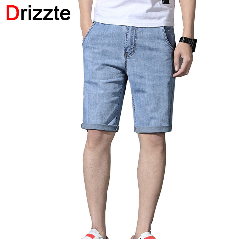 Drizzte Blue Jeans Shorts Pants Straight Summer for Mens Size 28-t0-42/44/46/..