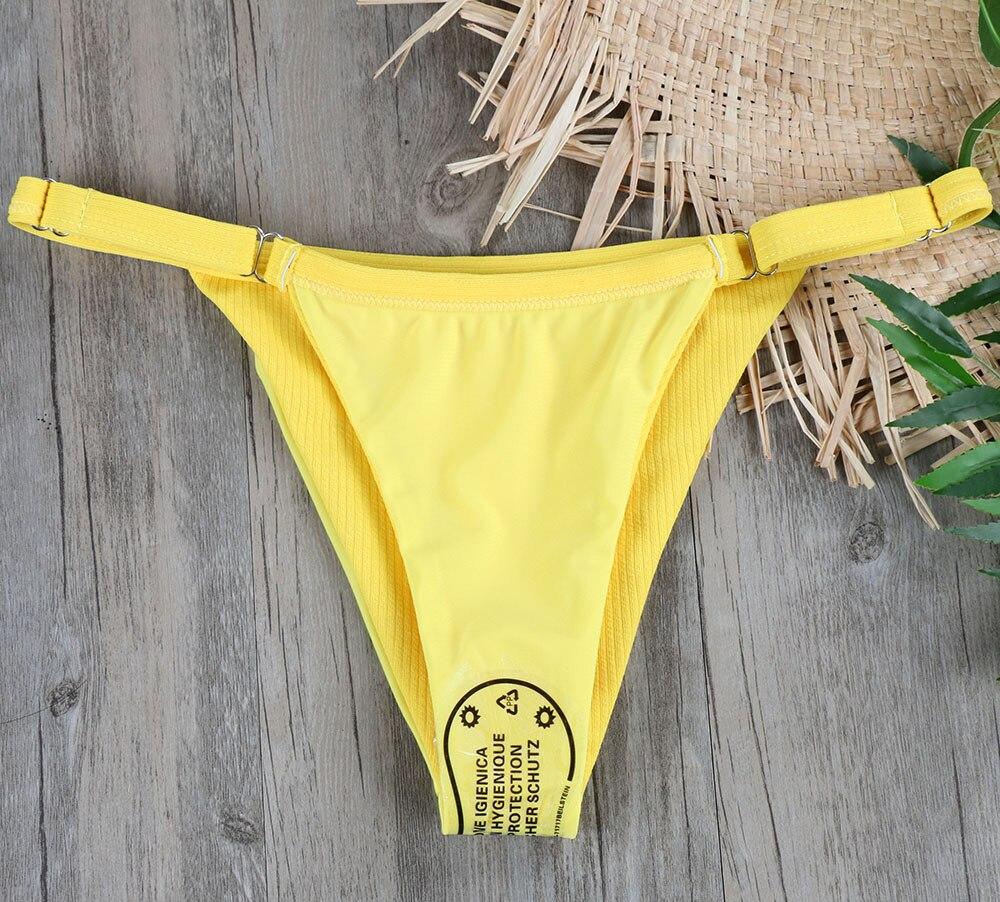 Melphieer Girls Yellow Red Bow knot Bikini 19 Beach Swimwear Summer Swimsuit Female Bikinis Women Bathing Suit Maillot De Bain 14