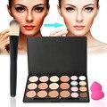 20 colors Makeup Eyeshadow Brushes Set Powder Puff Set  Cosmetic Makeup Blemish Cream Face Cream Concealer Palette