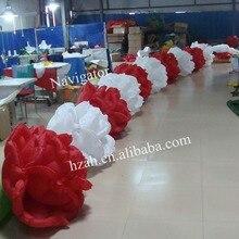 Надувные цветок цепь для Свадебные украшения