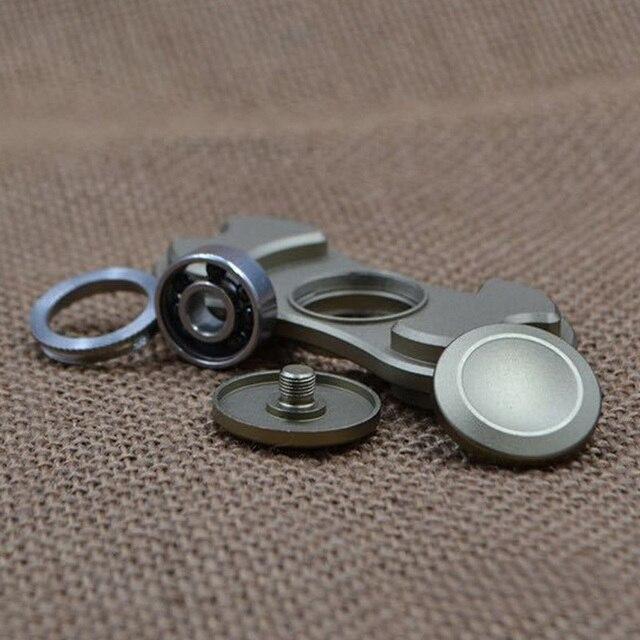 Fidget Spinner EDC Hand Spinner Toy Aluminum Bearing Fidget Toys Army Green