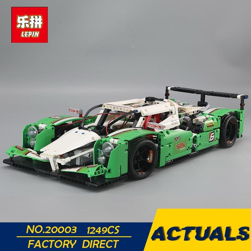 LEPIN 20003 1249PCS Technic Series The 24 hours Race Car Building Assembled Blocks Bricks Enlighten Toy 42039 Models building