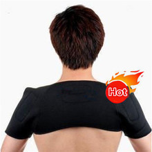Adjustable Tourmaline Shoulder Support Turmalina Posture Back Pain Relief for Neckache Magnetic Back Brace 4Sizes(S/M/L/XL) T029