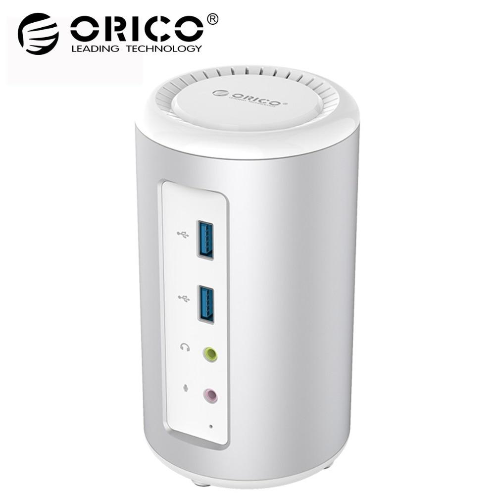 ORICO USB3.0 Universal Laptop Docking Station USB 3.0 HUB 4K HDMI Audio Converter with RJ45 for Laptop Support PD Charging orico usb hub 7 ports 5 gbps usb3 0 hub splitter support bc1 2 charging with 12v dc charging port