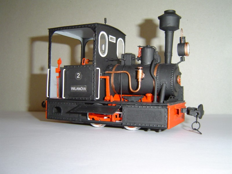 1:35 modèle en papier à monter soi-même Locomotive à vapeur à jauge étroite + 4 voitures 19 cadeau pour garçon Papercraft Puzzle 3D