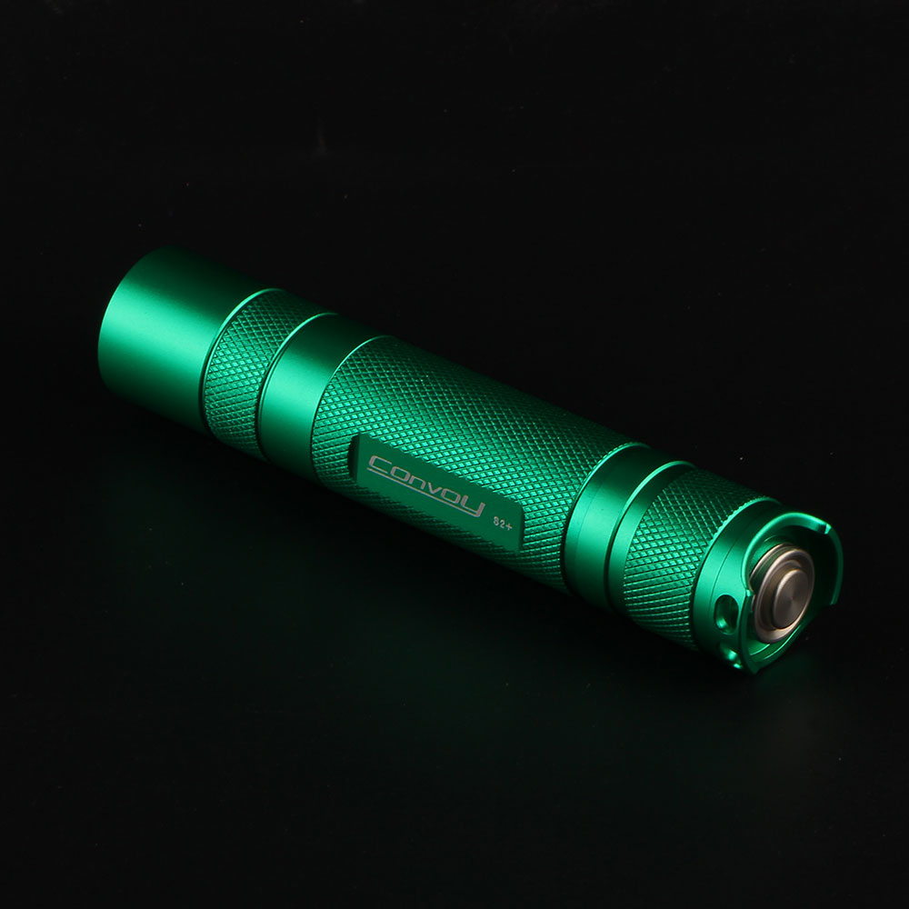 Convoy S2+ green Cree XML2 U2-1A EDC LED Flashlight,torch,lantern,self defense,camping light, lamp,for bicycle,gift for guys convoy s2 cree xm l2 u2 1a edc led flashlight torch light for bicycle tactical light by 18650 beterry gray